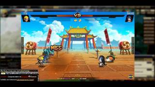 PockieNinja Naruto Vs. Orochimaru with sound effects