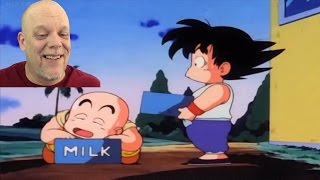 REACTION VIDEO | Goku and Krillin Grinding As Milk Delivery Dudes!