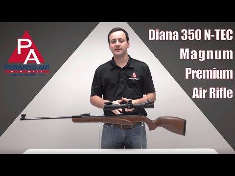 Video: Diana 350 N-TEC Magnum Premium Air Rifle   Pyramyd Air