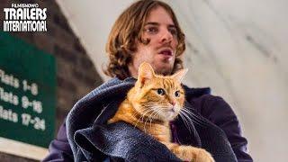 Um Gato de Rua Chamado Bob com Luke Treadaway   Trailer legendado [HD]