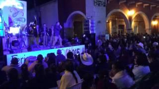 Presentación de la Banda Caña Verde Teatro del Pueblo Feria San Julián 2015