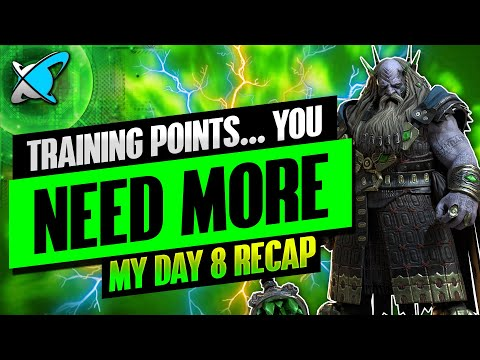 NEED MORE TRAINING POINTS !? | Underpriest Brogni Day 8 Recap | BGE's Guides | RAID: Shadow Legends