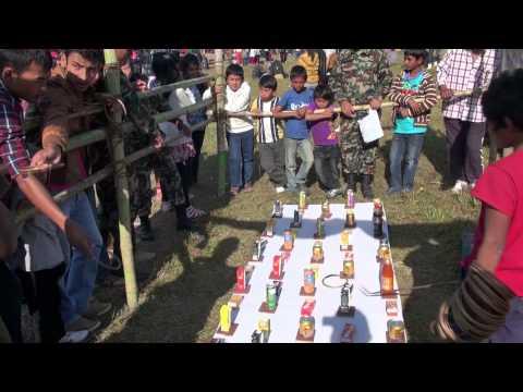 NEPAL POKHARA FAIRGROUND FETE FORAINE