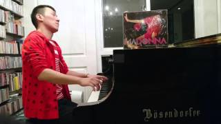 Madonna - Hung Up (piano cover)