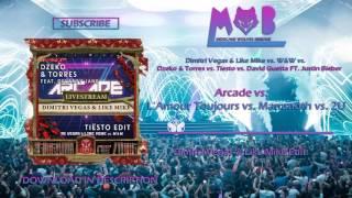 Arcade v.s Mammoth v.s L`Amour Toujours  v.s 2U (DV&LM Edit) (Skyline & Santiago Chávez Remake)