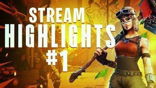 Stream Highlights #1 | Fortnite Battle Royale