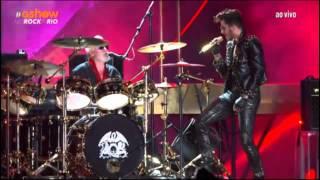Queen + Adam Lambert -  Another One Bites the Dust - Rock In Rio 2015