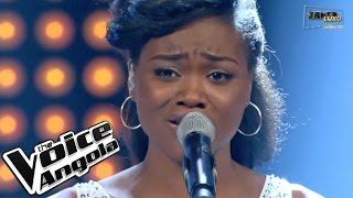 "Valércya Nzollani com ""Broken Hearted Girl"" / The Voice Angola 2015 / Show ao Vivo 3"