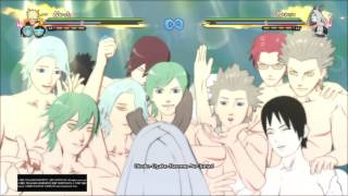 Sexy Reverse Harem Jutsu - Kaguya Reaction - Naruto Shippuden Ultimate Ninja Storm 4