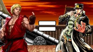 Stand Proud and Ken's Theme are the Exact Same Song [JoJo × Street Fighter] #CGSundays