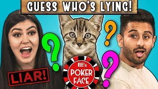 CAN YOU GUESS WHO'S LYING? | Poker Face (REACT)
