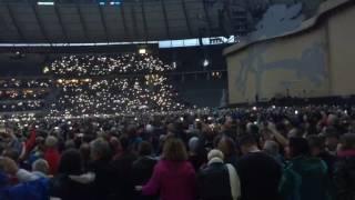 U2 Tribute to David Bowie 12.07.2017 - Heroes