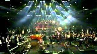 Mike Oldfield - Mastermind + Broad Sunlit uplands (Live in Berlin 1999-12-31) from TV