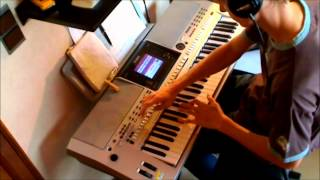 Yeah Yeah Yeahs - Heads Will Roll (live on keyboard) [HD]
