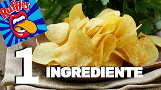 BATATA CHIPS NO MICROONDAS COM 1 INGREDIENTE