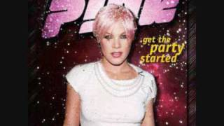 P!nk - Get The Party Started With Lyrics