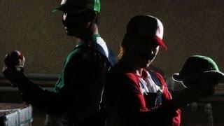 Super Smash Bros. for 3DS/Wii U - Mario vs Luigi (Live Action)
