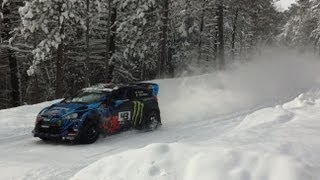 Hoonigan Racing Division Sno Drift Test Day