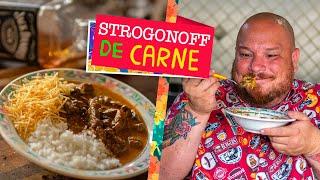Égua Doido - Como fazer Strogonoff de carne (receita de estrogofe com cogumelos)