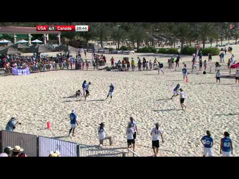 Video Thumbnail: 2015 World Championships of Beach Ultimate, Women's Masters Gold Medal Game: USA vs. Canada