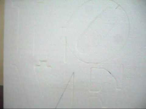 strafor kesim makinası Cnc (STRO-II)