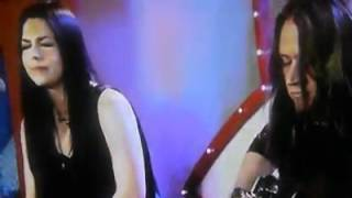 Evanescence Acoustic live Part. 2 Australian countdown (My heart is broken) song