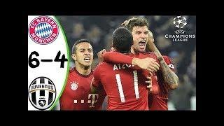 Bayern munich vs Juventus 6-4 - Full Match Highlights Quater Final