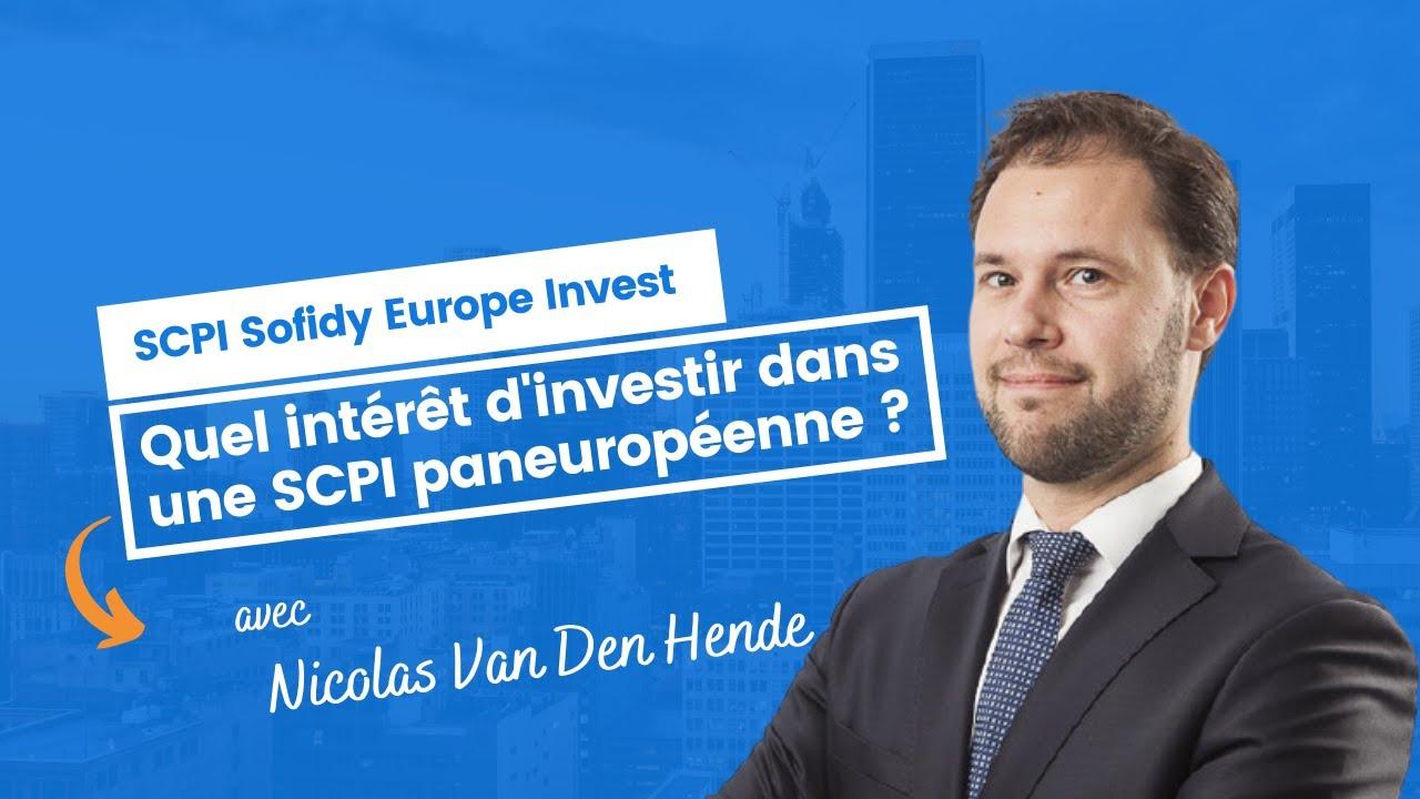 Quel intérêt d'investir dans une SCPI paneuropéenne ?