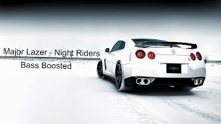 Major Lazer - Night Riders [EXTREME BASS BOOSTED]
