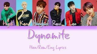VIXX - Dynamite [HAN|ROM|ENG Color Coded Lyrics]