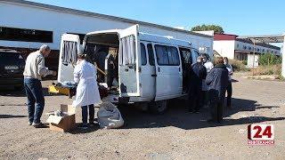 В Нефтекамске бездомным оказали помощь одеждой, продуктами, медикаментами