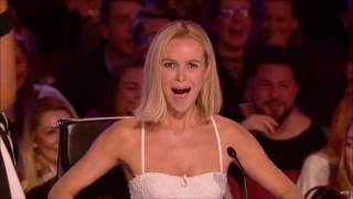 Britain's Got Talent 2017, Ned Woodman 8 Year Old Comedian Is so Savage!