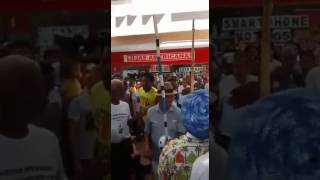 Roda de Capoeira na Praça XV de novembro em Ribeirão Preto-SP