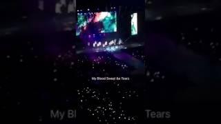BTS in Anaheim Day 1, Blood Sweat & Tears