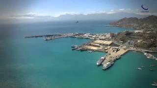Cabo Verde from the air - São Vicente