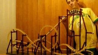 Test maquette coasters dynamix 2