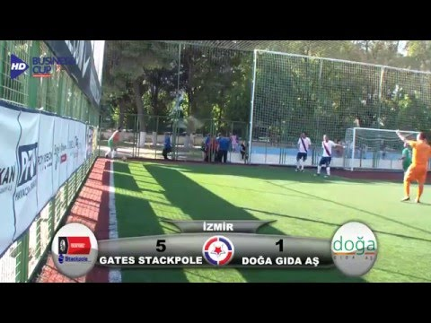Gates Stackpole - Doğa Gıda AŞ Business Cup 2012 İzmir 2.Hafta HD