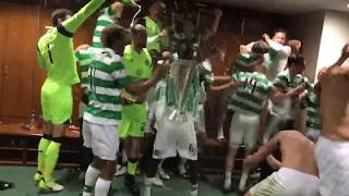 Celtic FC - Dressing room celebrations for the #inVIncibles!