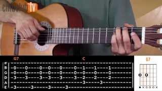 Videoaula Asa Branca (aula de violão completa)