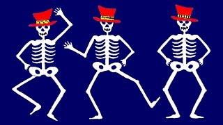Los esqueletos - Canción infantil - Halloween