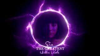 Sia - The Greatest (Hidden Vocals)