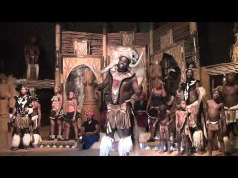 ZULU DANCE, SHAKALAND._ in 3D.