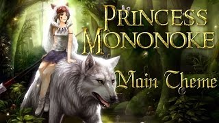 ★ Princess Mononoke Theme (Violin, Piano)