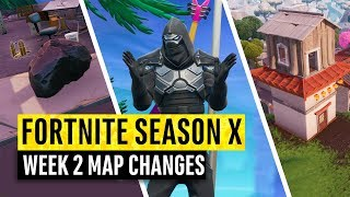 Fortnite Season X Map Changes Videos Infinitube