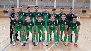 Futsal: Prijateljska tekma Slovenija (U-19) - Francija (U-21)