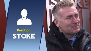 Dean Smith's Stoke City reaction: We deserved at least a point