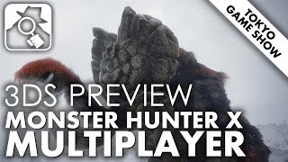 THE ART OF THE HUNT | Monster Hunter X multiplayer 3DS TGS2015 preview