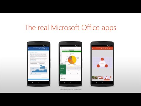 free microsoft word app for android tablet