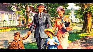 Ideal White 1950s Families Should Live In Suburbia