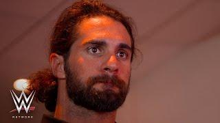 Seth Rollins presenciando Wrestlemania 32